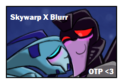 Blurr x Skywarp Stamp by yodana