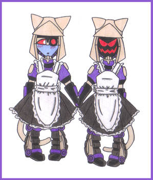 Blitzwing Kittycon Maids