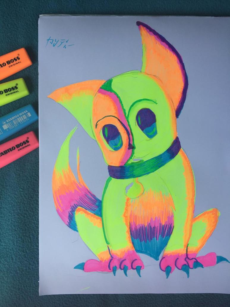 fluorine dog by CandyNayaki