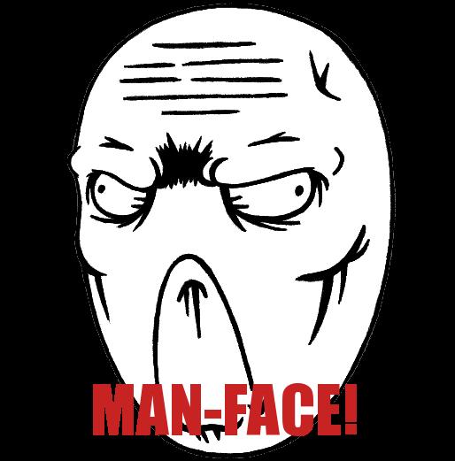 Man-Face by Man-faceplz