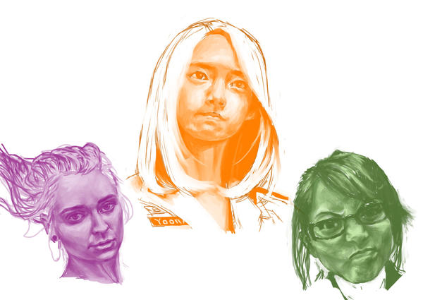 Face Study 1 by yzzzehC