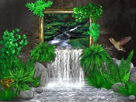 Green Room by MindSabotage