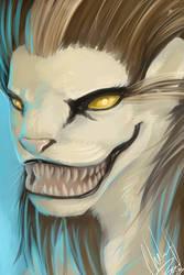 Monster Portrait 3 - Sphinx by DanjiIsthmus