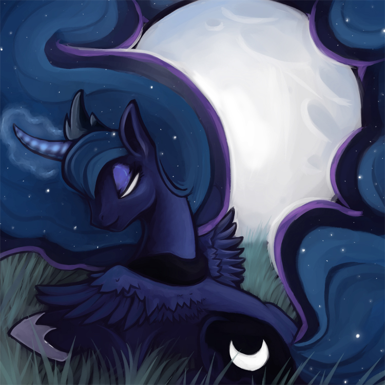 Luna's Moon Dance -Cover Art- by DanjiIsthmus