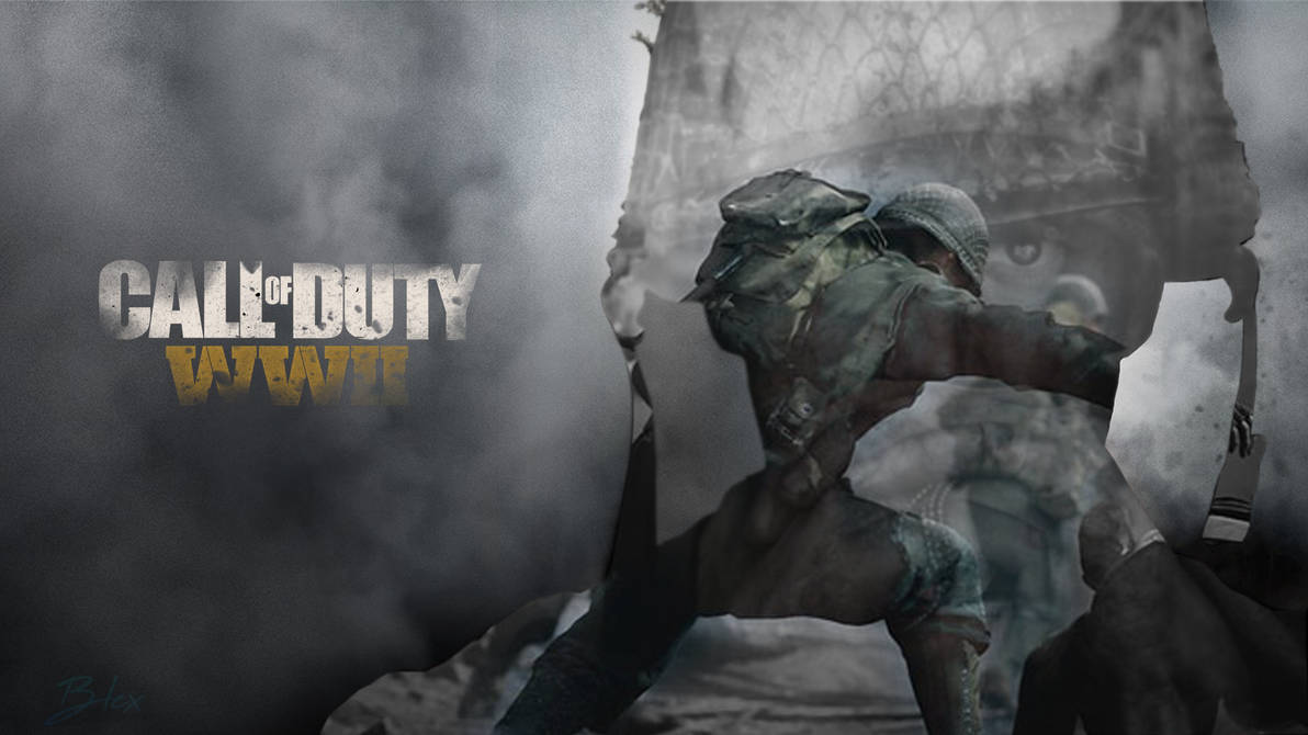 Wallpaper Call Of Duty Wwii Pc By Deltagraphics On Deviantart
