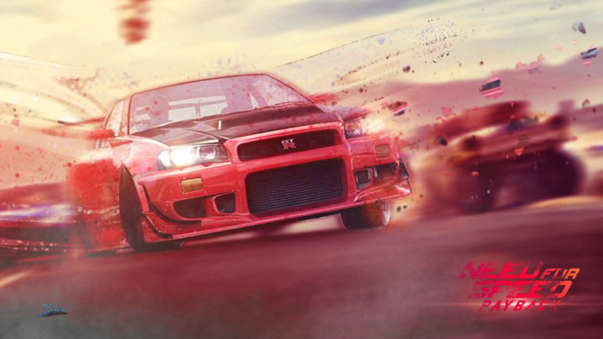 Wallpaper Need For Speed PayBack By DeltaGraphics