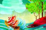Sinbad and the Island Fish