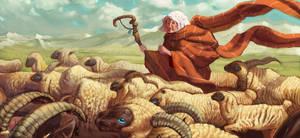 Adelheit Herder of Sheep