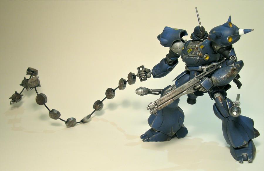 Gundam: MS-18e Kampfer 1 by Beastysakura