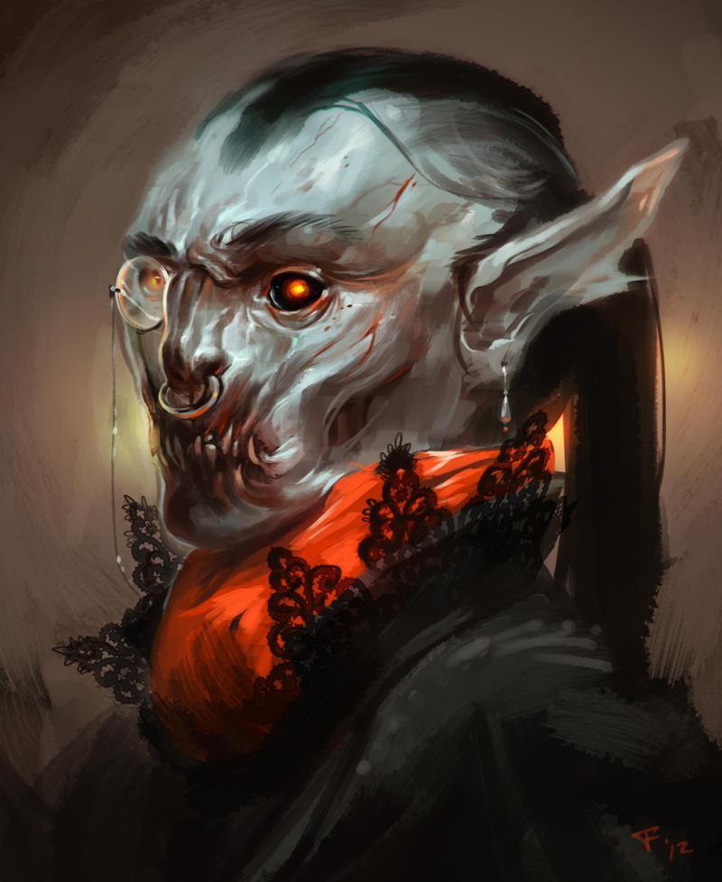 GameFace Vampire by Beastysakura