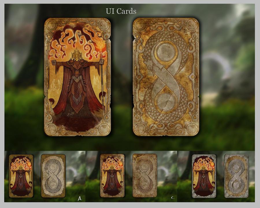 Reckoning2 Destiny cards by Beastysakura