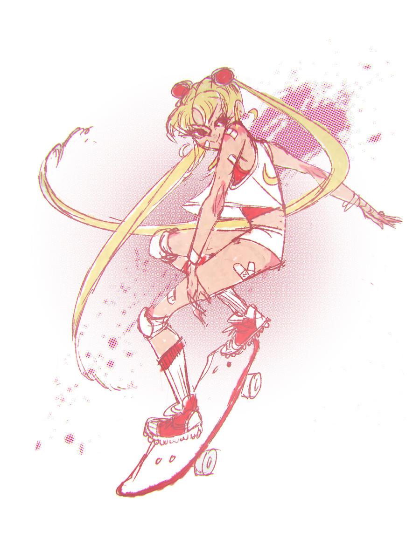 Sailor Skater by Beastysakura