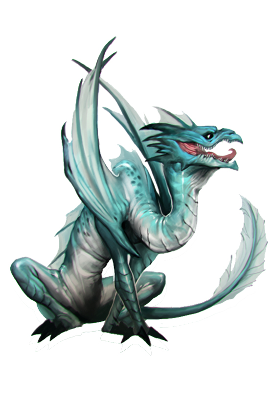 BrineDragonYoung by Beastysakura