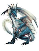 BrineDragonAncient by Beastysakura