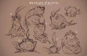 Patreon: Mandrake of Mithras Sketches