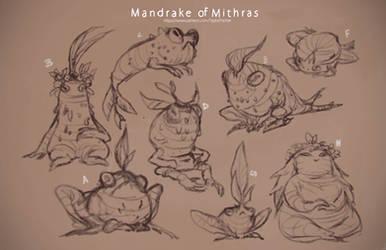 Patreon: Mandrake of Mithras Sketches by Beastysakura