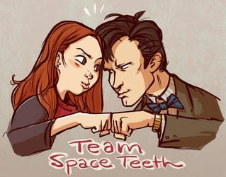 Space Teeth by basalt