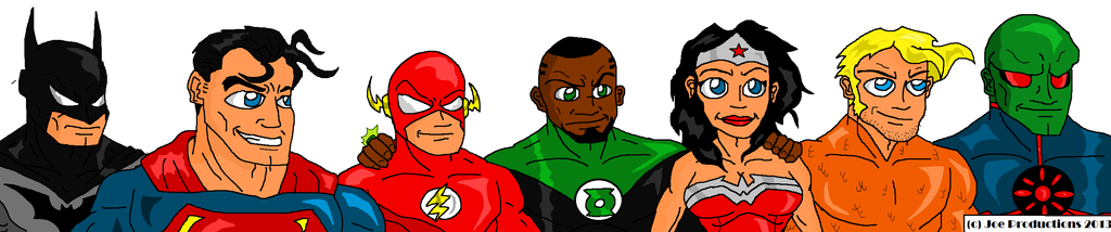 JoeProCEO's Justice League 2013 by JoeProCeo