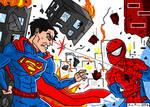JoeProCEO's Superman Vs Spider-Man