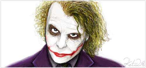 Why so serious? by khaedin