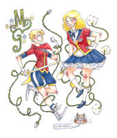 Magical Girls by khaedin