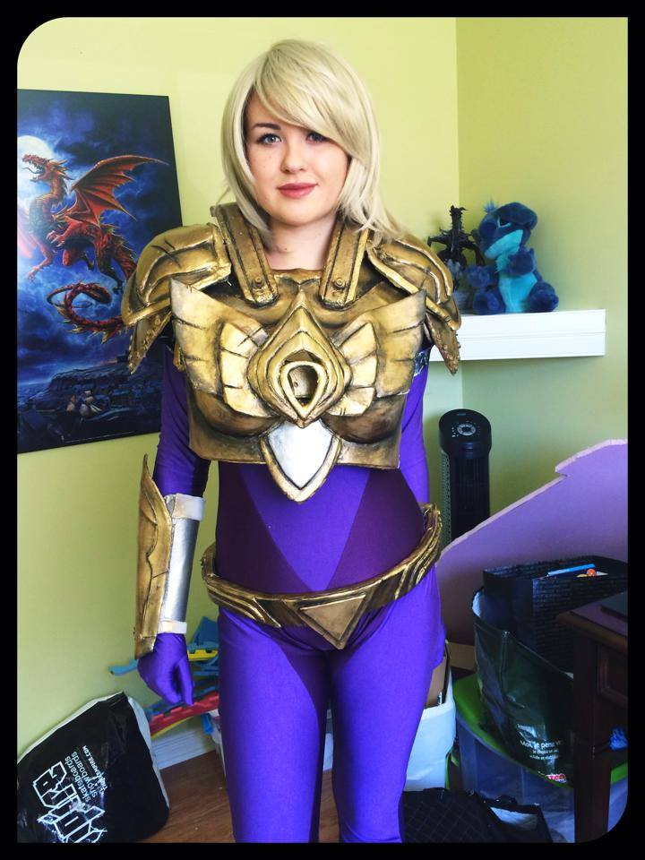Aether Wing Kayle Armor WIP by Dragonsnightshade on DeviantArt