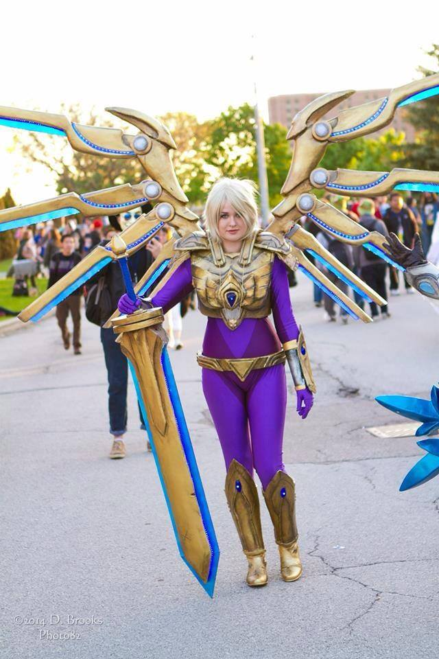 Aether Wing Kayle by Dragonsnightshade on DeviantArt
