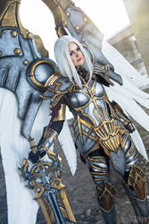 Ashari Cosplay's Uriel from Darksiders