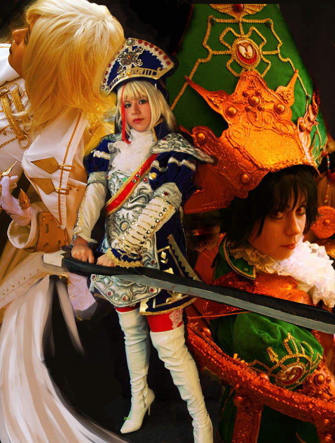 COSPLAY TRINITY BLOOD by ositodonas