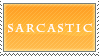 .::Stamp::. Sarcastic by Maliciouses