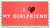 I love my Girlfriend by Maliciouses