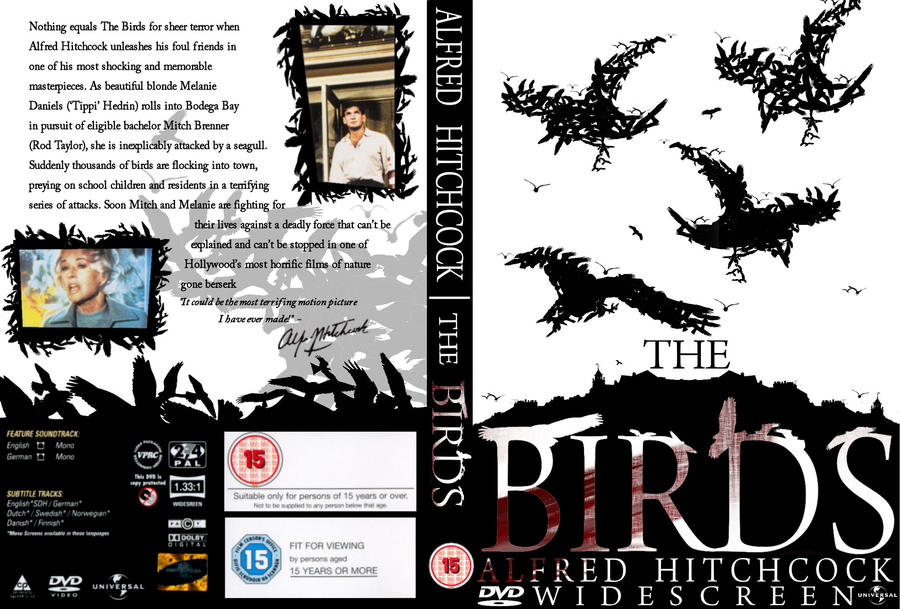 The Birds' DVD cover concept by chocodiles on DeviantArt