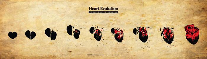 Heart Evolution by Shozen
