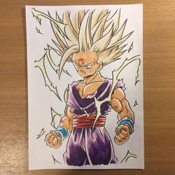 Super Saiyajin 2 Son Gohan by Shozen