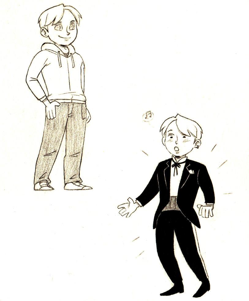 Casual / Tuxedo Boy by Tarento