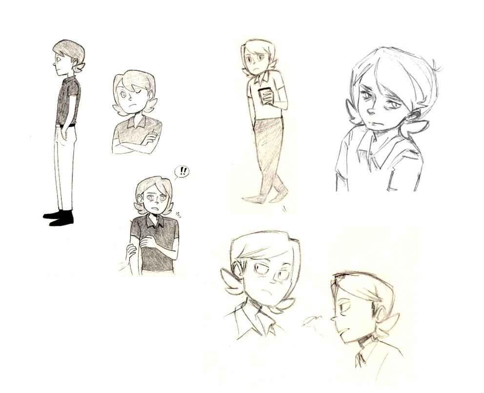 Eric doodles by Tarento
