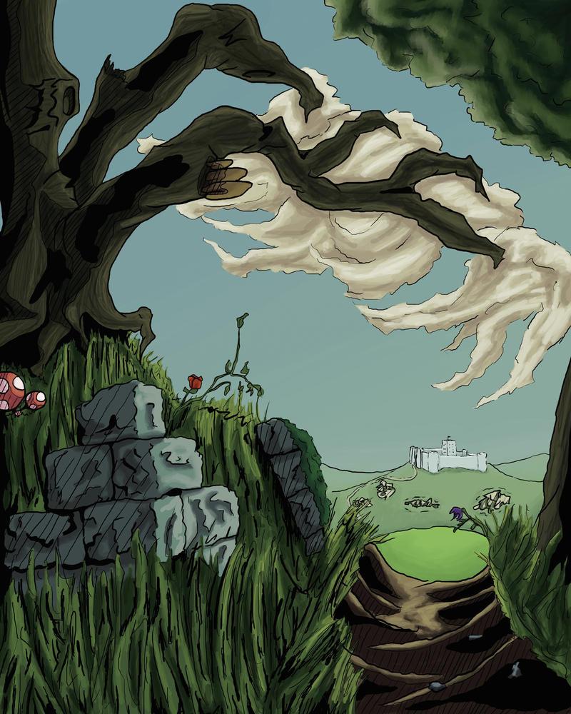 Daily art:02 forest's edge by busch-art