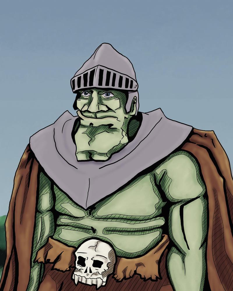 Daily art: 03 Troll soldier by busch-art