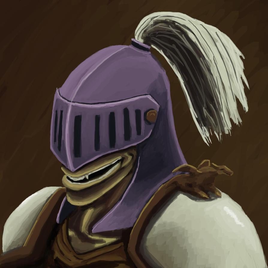 Daily art: 06 Demon knight by busch-art