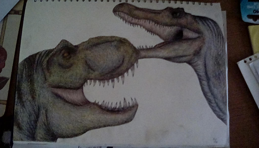Spinosaurus Aegyptiacus Vs T Rex | www.imgkid.com - The ...