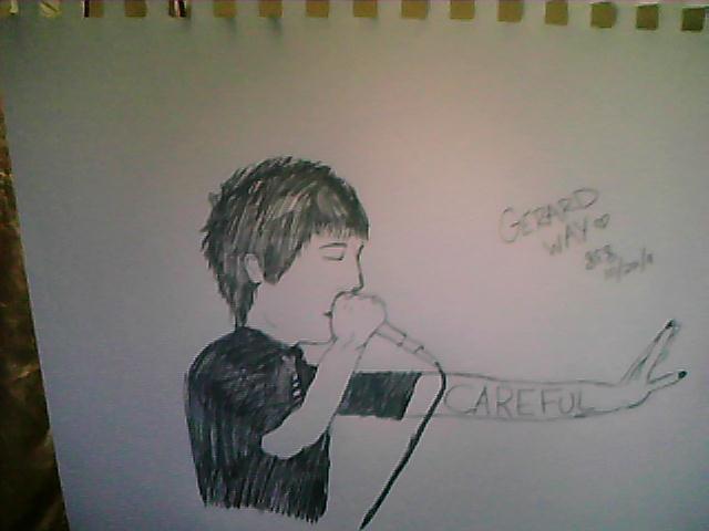 Gerard Way by SophieKilljoy16