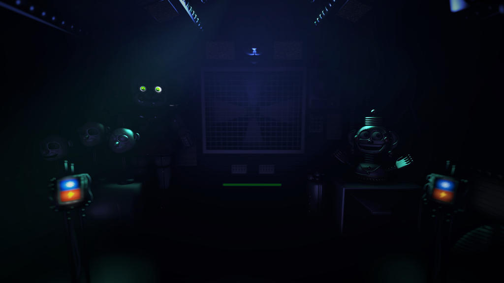 Control Room Five Nights At Freddy S Sister Location