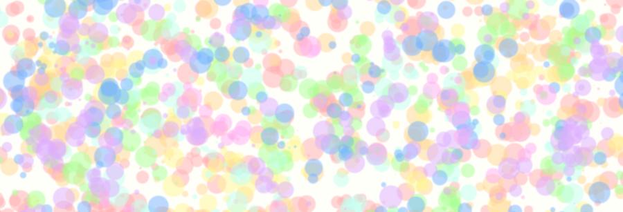 Pastel Rainbow Dots By KiIIerKirby
