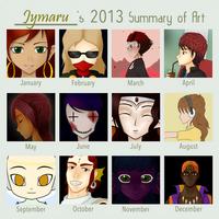 Year of Art 2013 by Jymaru