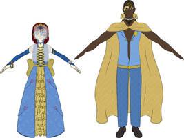CoC: MadziAzu Outfit Refs by Jymaru