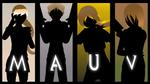 Team MAUV silhouettes