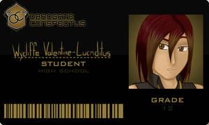 OCA: Wycliffe Valentine-Lucriditus by Jymaru