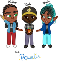 Backlog: Powell Family by Jymaru