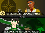 Backlog: OC VS: Sable Avorio vs Gawain Grunwald