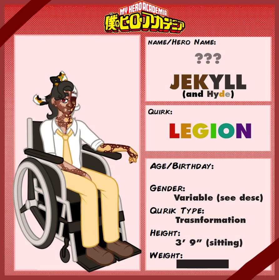 TA: Jekyll (and Hyde) by Jymaru